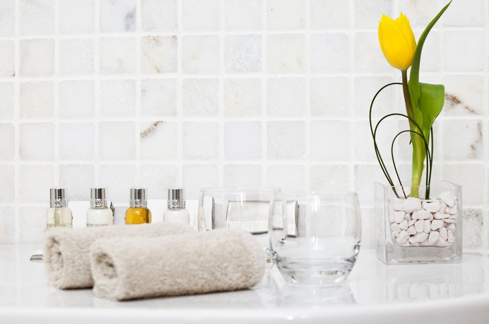 Vacation rental amenities for the bathroom