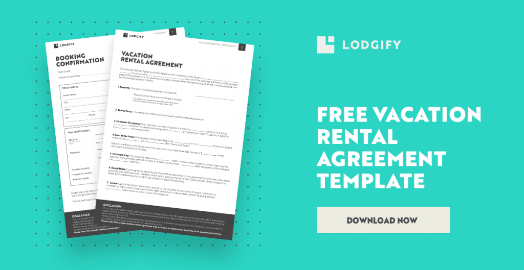 Free Download Vacation Rental Agreement Template