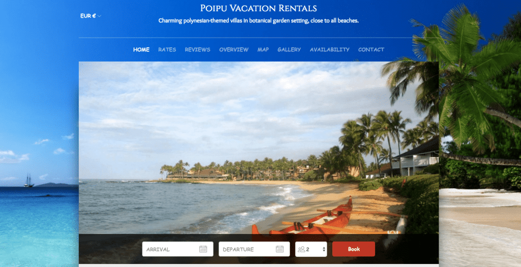 Poipu Vacation Rentals