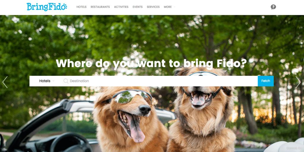 Vacation Rental Websites BringFido.com