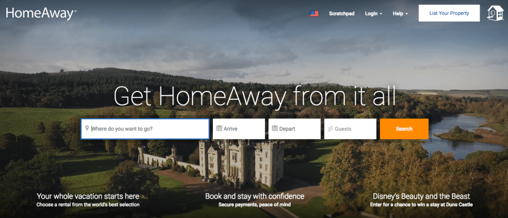 Vacation Rental Websites HomeAway