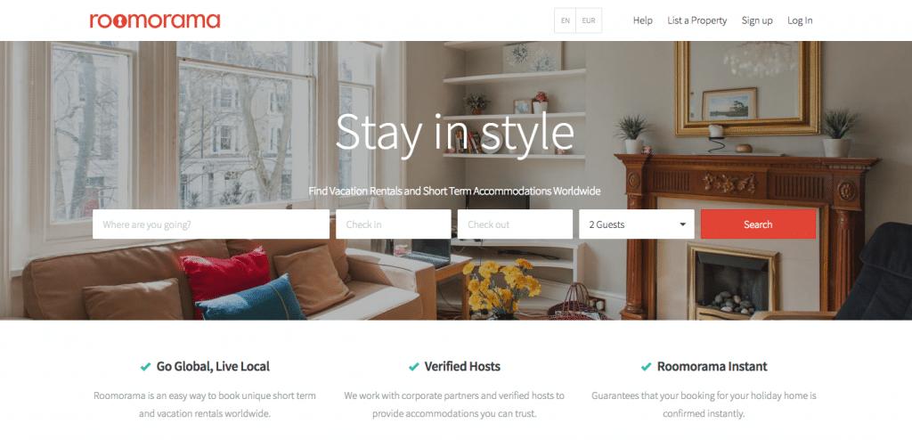 Vacation Rental Websites Roomorama