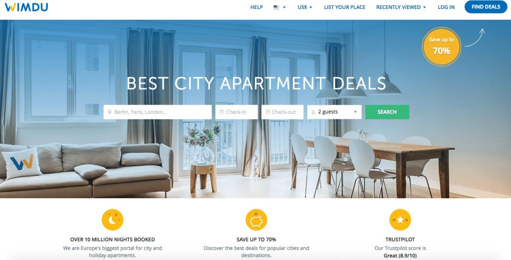 Vacation Rental Websites Wimdu