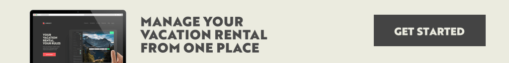 Short term vacation rentals sign up