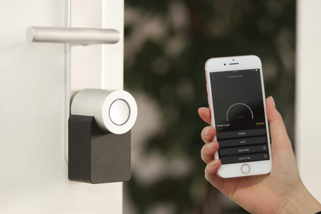 Smart Lock for vacation rental home security during the Fourth of July.