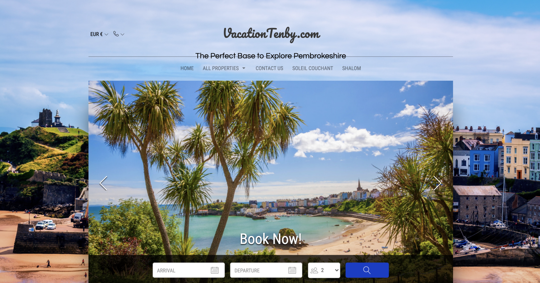 Lodgify Vacation Rental Websites