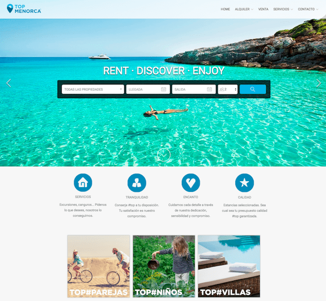 Rent Websites: 20 Beautiful Vacation Rental Websites Built Using Lodgify
