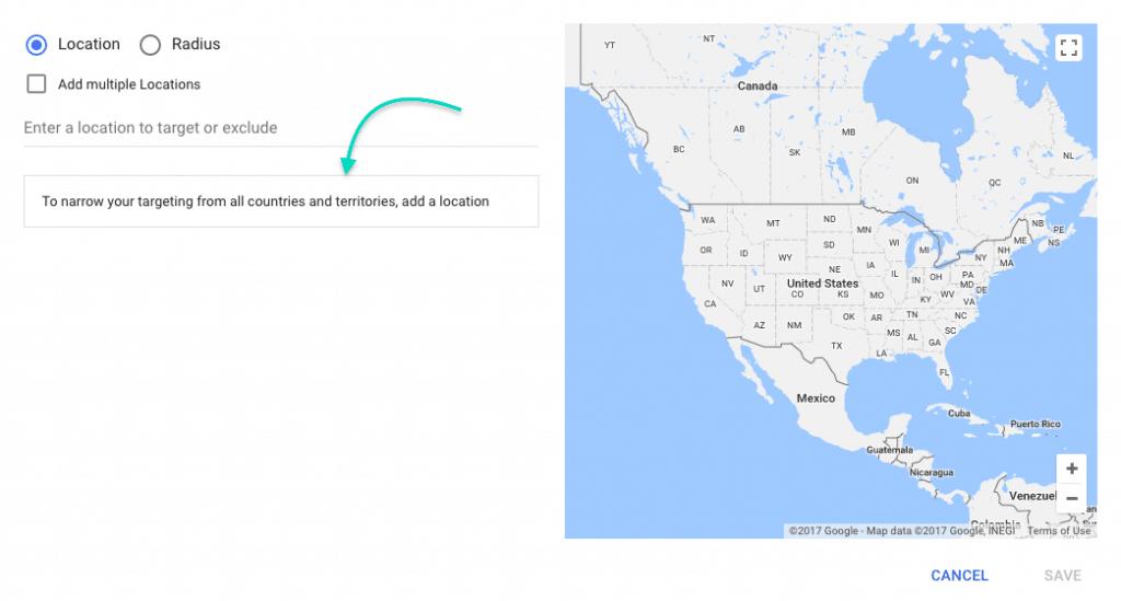 Google AdWords Tutorial targeting