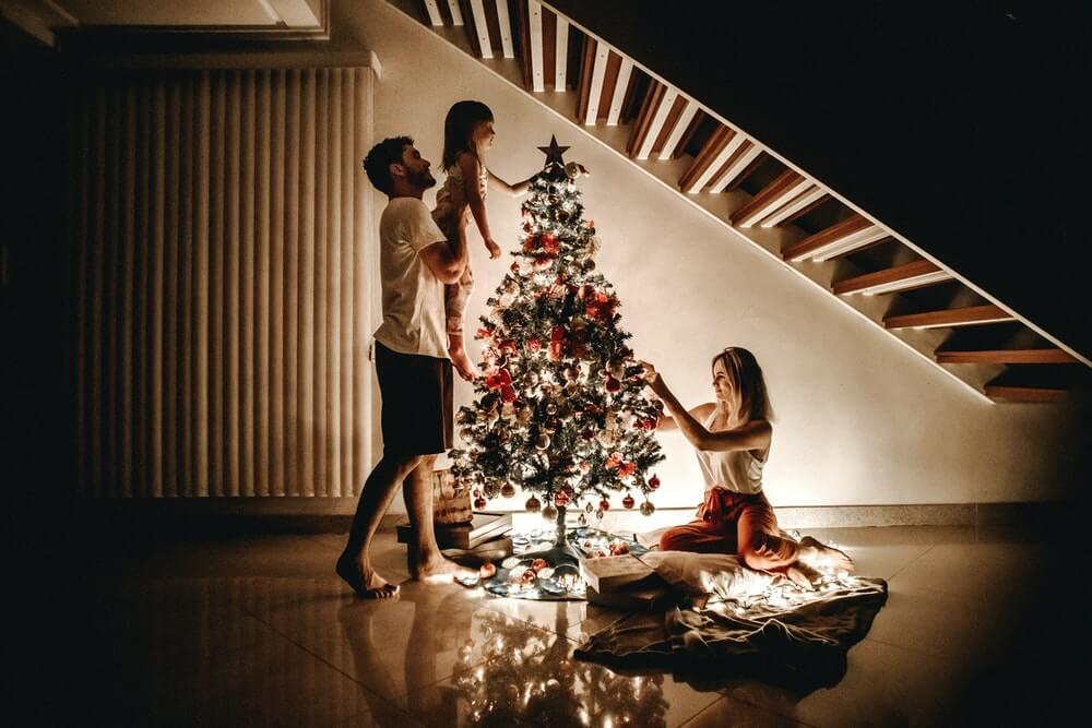 Le decorazioni natalizie per case vacanze