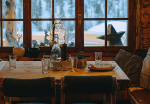 best winter cabin vacations