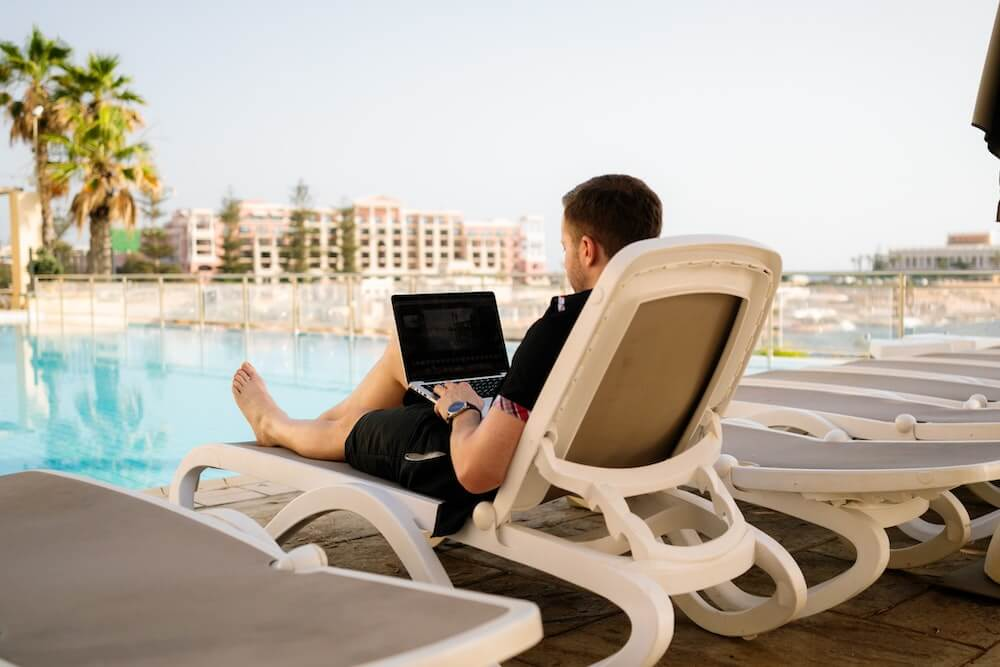 Digital nomad vacation rental owners