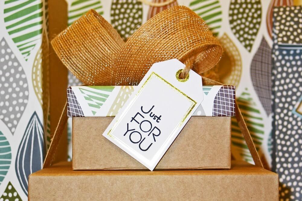 Carte regalo in una casa di vazanze