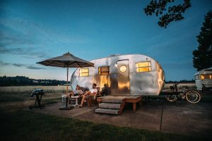 glamping business model