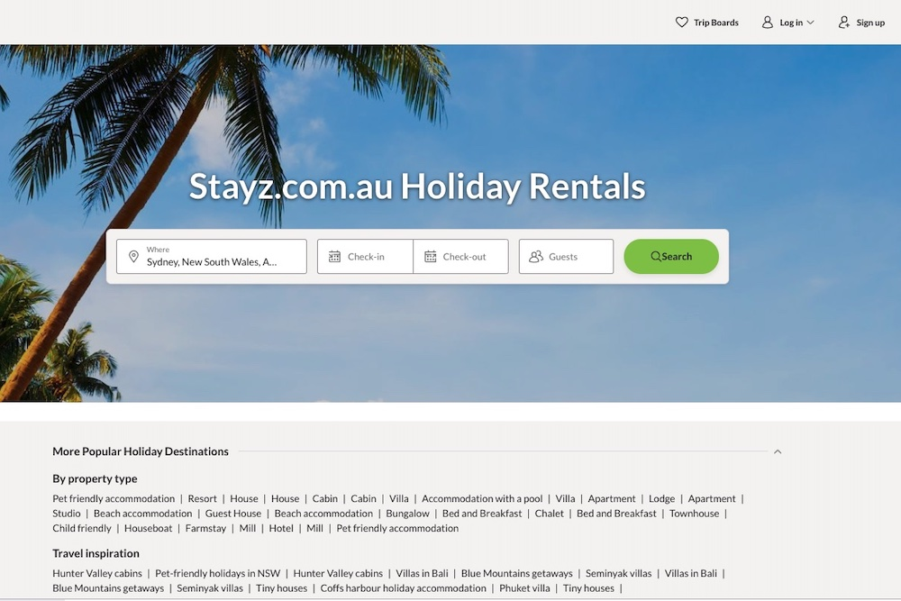 Stayz Commission Fees