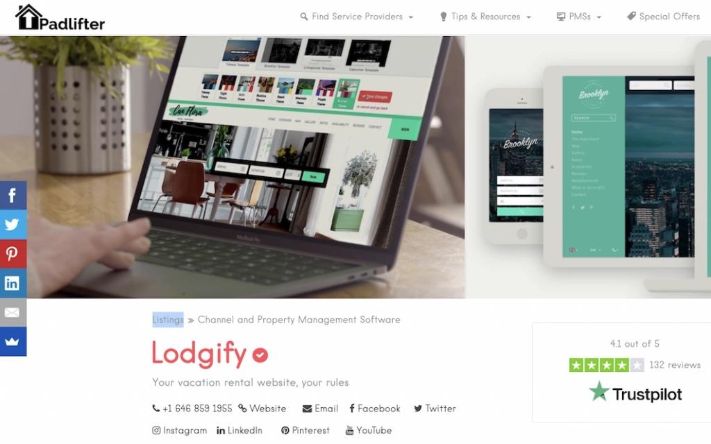 Recensioni Lodgify 2021
