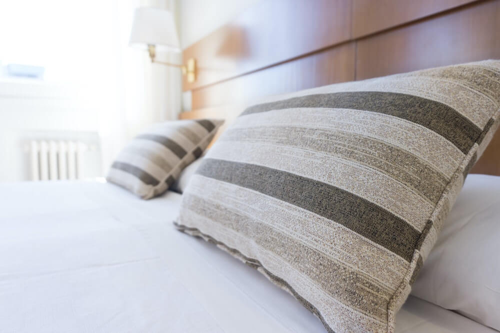 pillows for vacation rental renovation