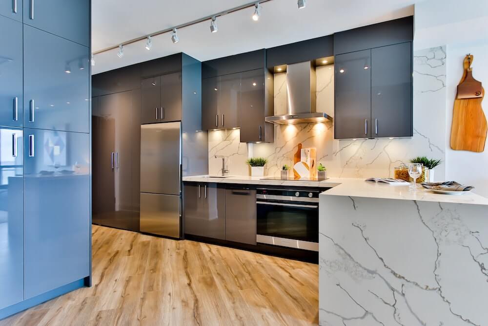 remodeled vacation rental kitchen