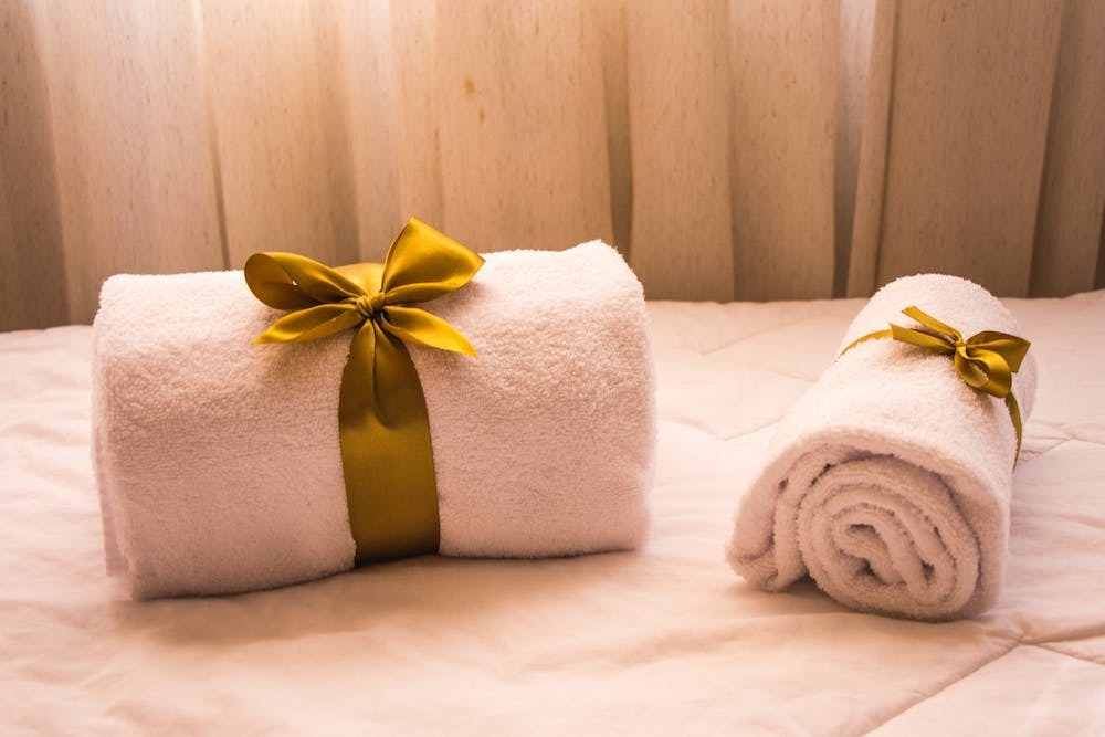 Upgrading vacation rental towels