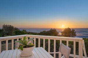 Balkon Aussicht auf Meer