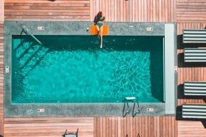 Pool in Ferienwohnung bauen