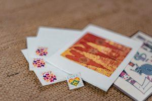 Briefe mit Briefmarke