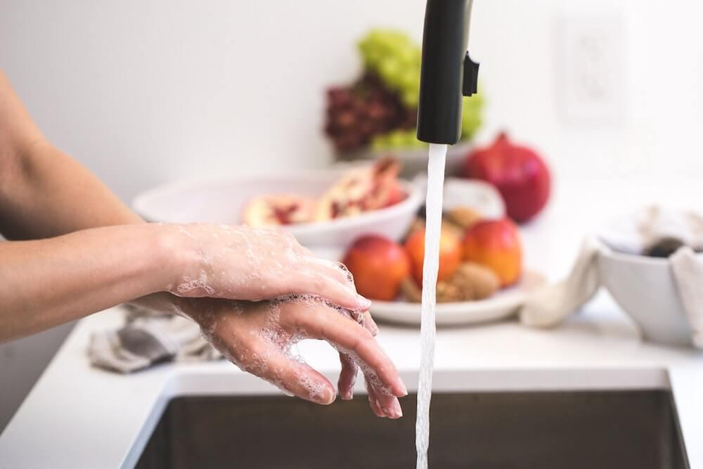 Lavar manos con jabón