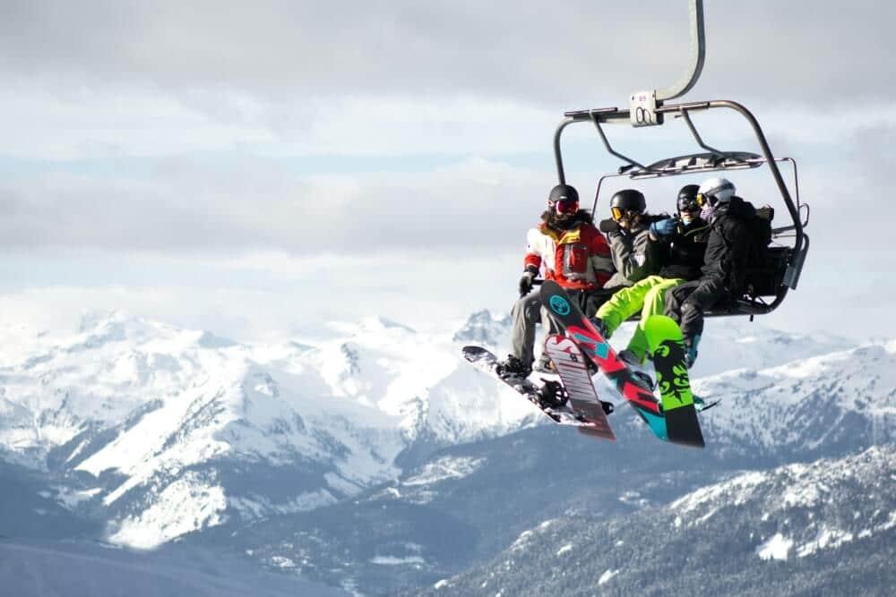 descuento en un alquiler vacacional para ir a esquiar