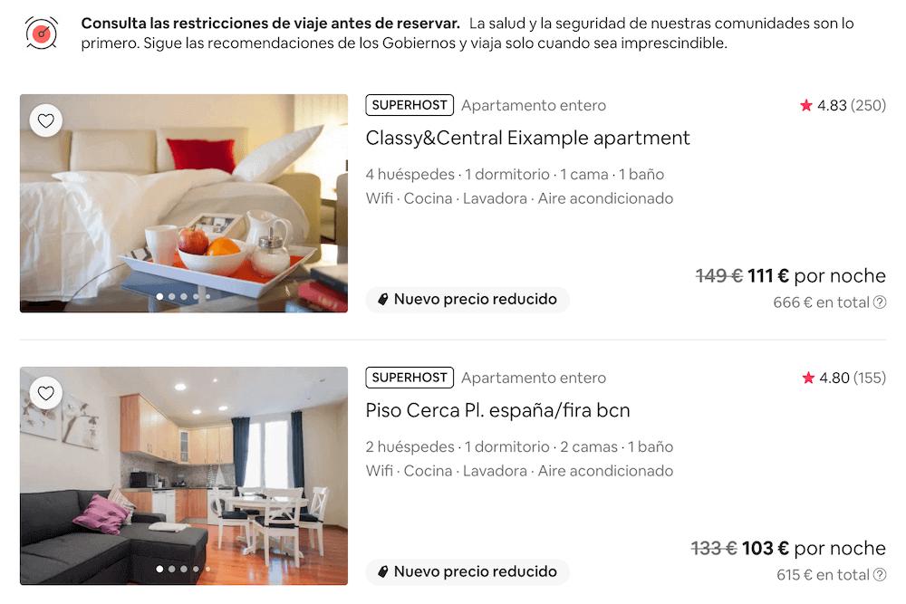 Distintivo de Superhost en Airbnb