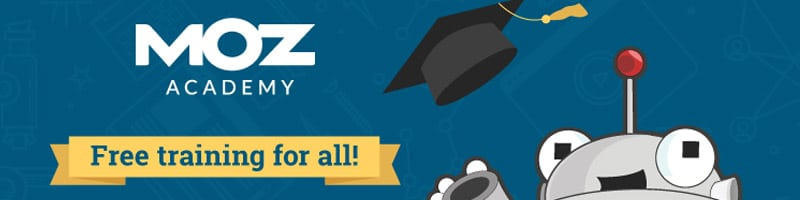 SEO training with Moz academy