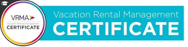 VRM vacation rental management certificate