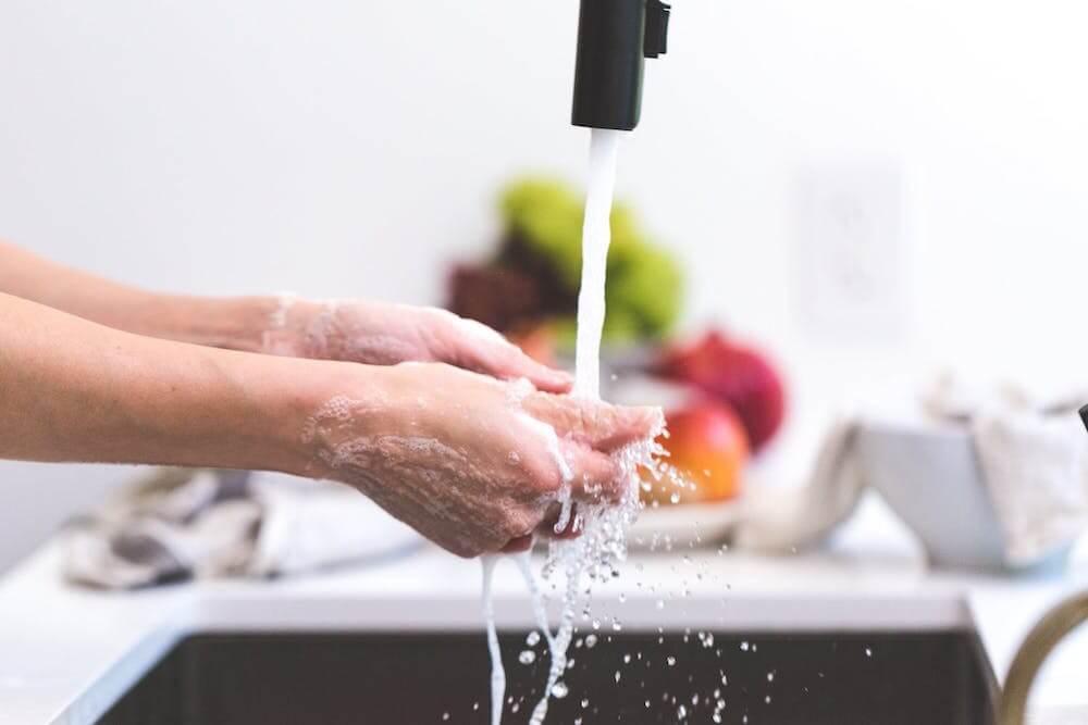 Lavarse las manos por Coronavirus