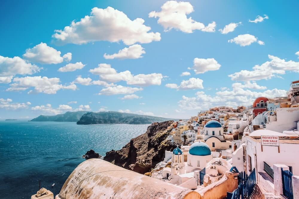 Reactivación del turismo en Mykonos, Grecia
