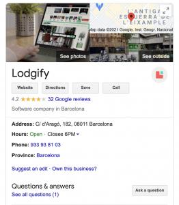 Lodgify Complaints Google