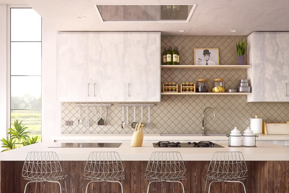 vacation rental kitchen