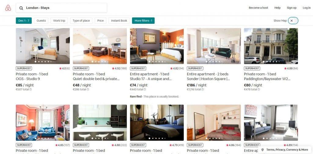 Annuncio Airbnb