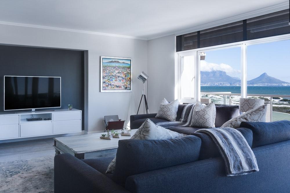 decoración apartamento playa