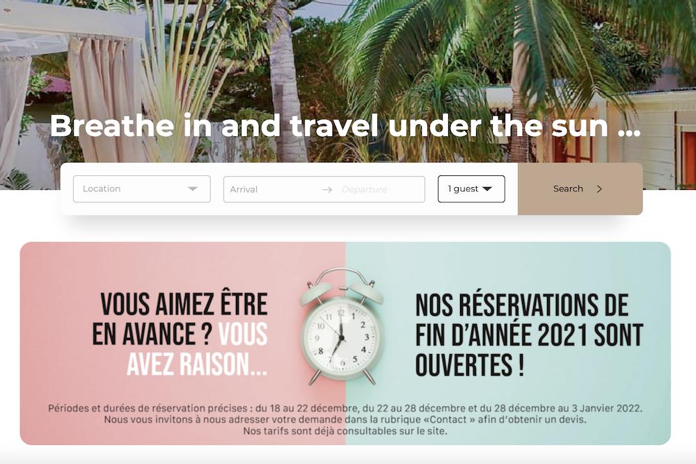 Vacation Rental Website Examples Best