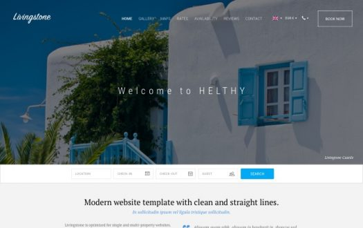 Vacation Rental Website Templates - Lodgify