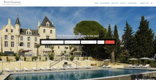 Lodgify Website Example Multi Petit Chateau