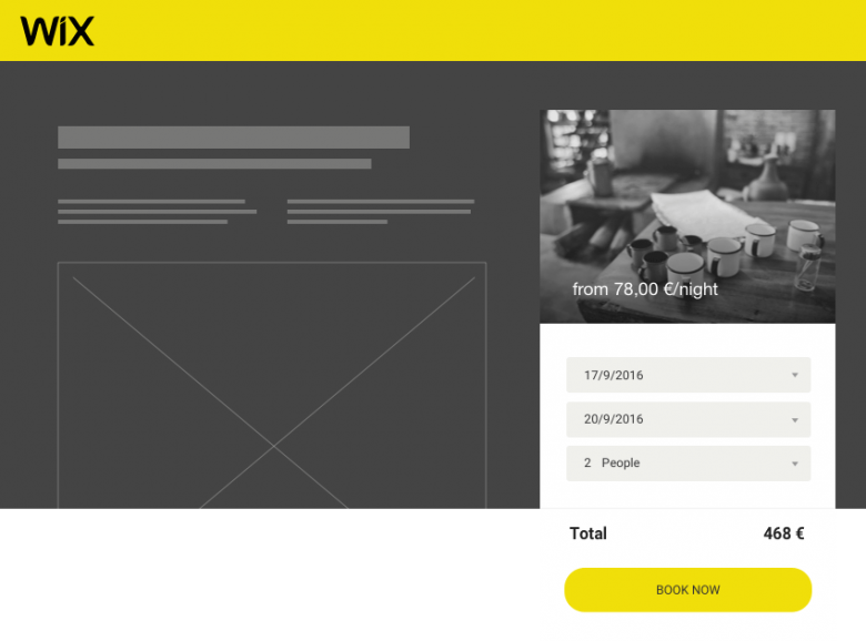 the solution for taking direct bookings u0026 payments on your wix vacation rental website
