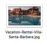 vacation rental seo tips - optimize your pictures