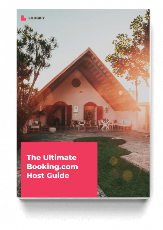 Booking.com Host Guide Cover